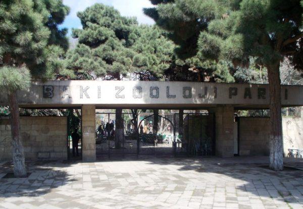 Вход в Бакинский зоопарк