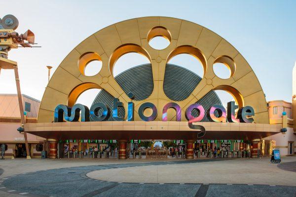 Вход в парк Motiongate в Дубае