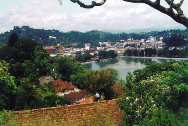 Вид на город Канди