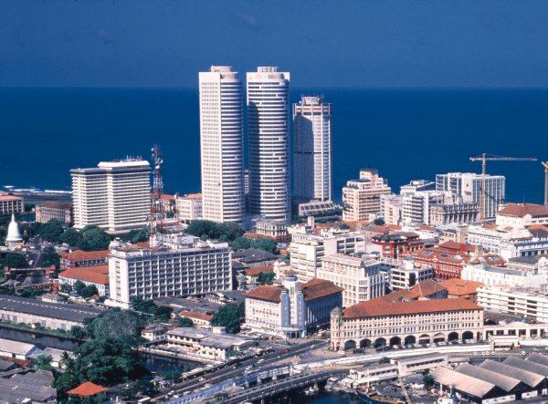 Вид на город Коломбо