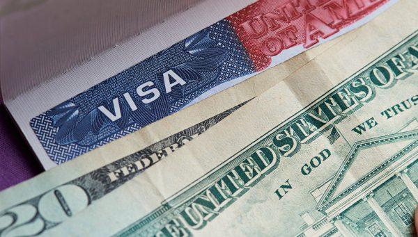 Виза в США и доллары