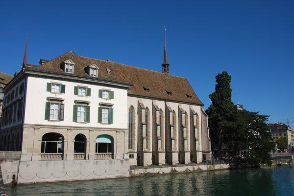 Водная церковь в Цюрихе