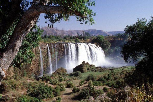 Водопад Тис-Ысат на реке Голубой Нил