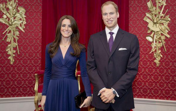 Восковые фигуры принца Уильяма и Кейт Миддлтон