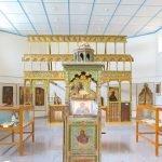 Выставочный зал с иконами Византийского музея