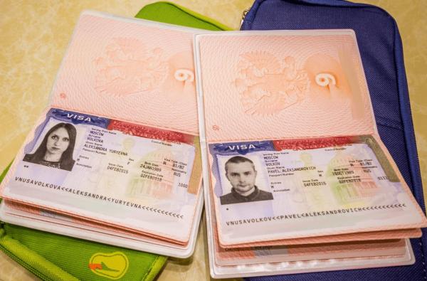 Загранпаспорта с визами