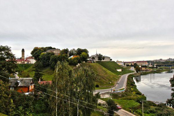 Замковая гора в Гродно