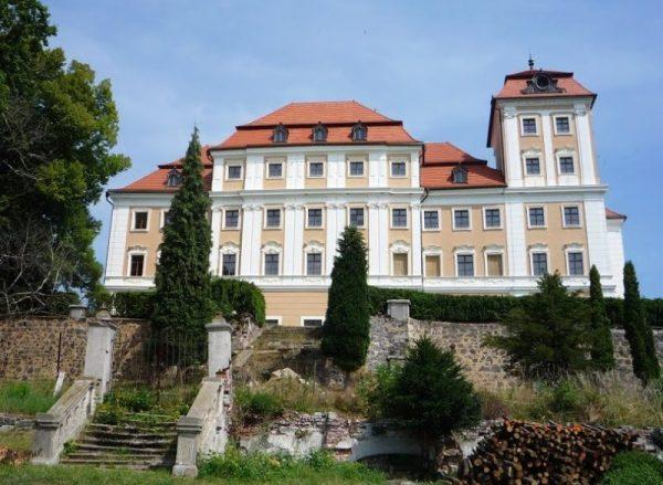 Замок Валеч в Чехии