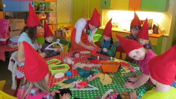 Занятия в детском музее Miia-Milla-Manda в Таллине