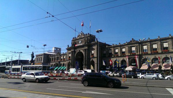 Железнодорожный вокзал Цюриха