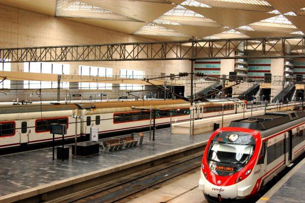 Железнодорожный вокзал Сарагосы