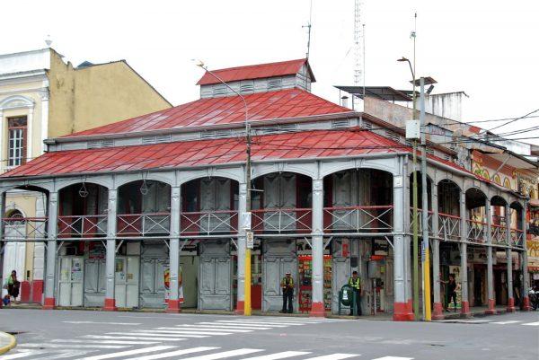 Железный дом в Икитосе