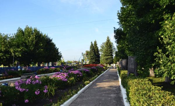 Окский парк в Муроме
