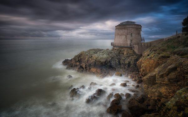 Башня Джеймса Джойса в Дублине