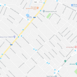 Аэропорт на карте Симферополя