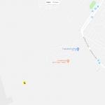 Аэропорт Одессы на карте города