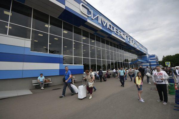 Аэропорт Симферополя — новое здание