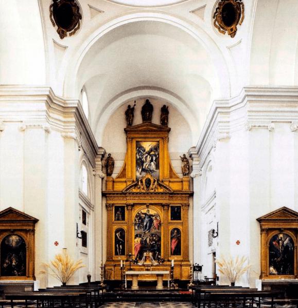 Алтарь монастыря Санто-Доминго-эль-Антигуо в Толедо