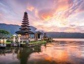 Бали на восходе солнца