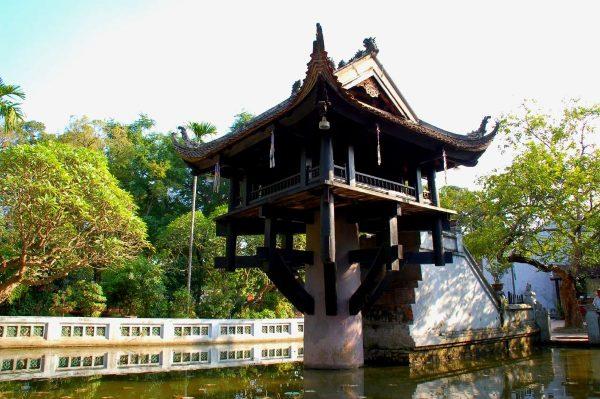 Башня цветка лотоса в Ханое