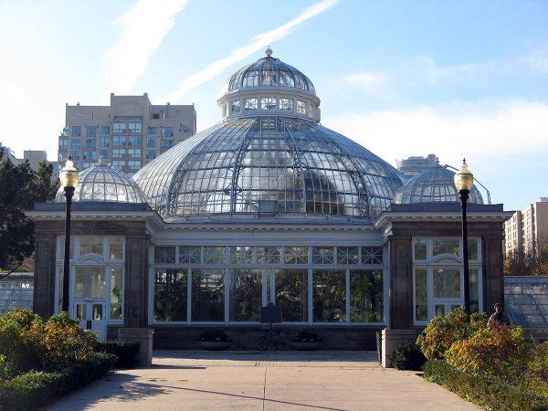 Ботанический сад Аллан в Торонто