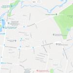 Ботсад и зоопарк на карте Ташкента