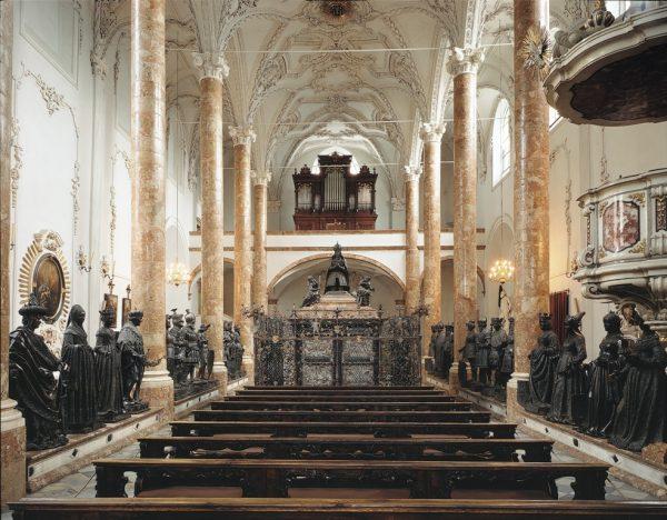 Церковь Хофкирхе в Инсбруке