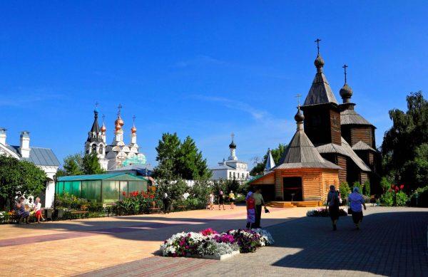 Деревянная церковь Сергия Радонежского в Муроме