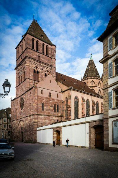 Церковь святого Фомы в Страсбурге