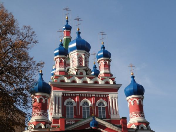 Церковь Святой Троицы в столице Латвии