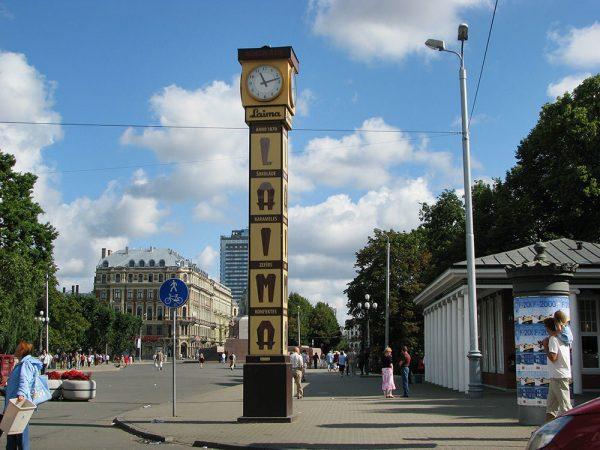 Часы «Лайма» в Риге