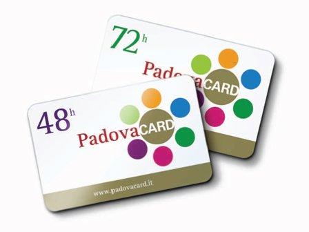 Карта туриста Padova Card