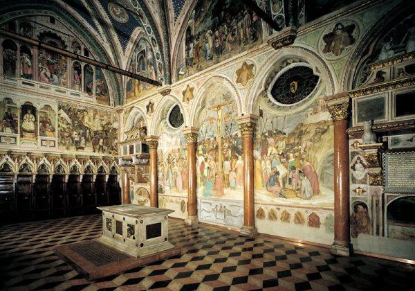 Росписи в базилике святого Антония