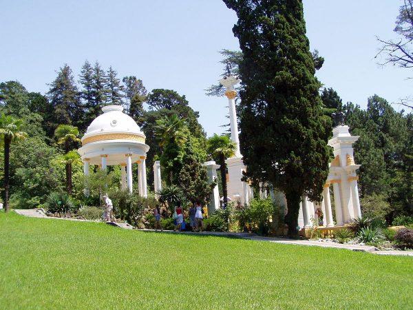 Дендрарий в парке «Ривьера» в Сочи