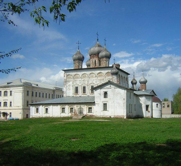 Деревяницкий монастырь в Великом Новгороде