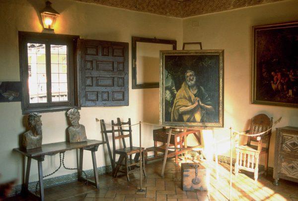 Дом-музей Эль Греко в Толедо внутри