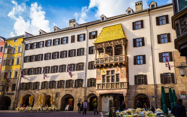 Дом с золотой крышей в Инсбруке