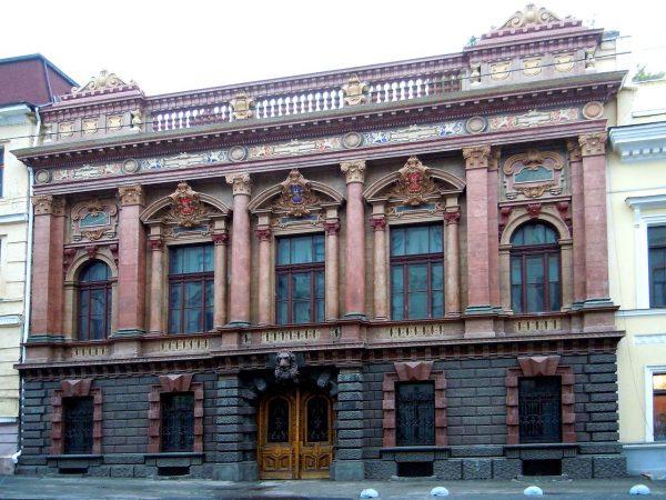 Дом учёных и дворец графов Толстых в Одессе