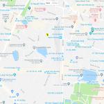 Достопримечательности на карте центра Ханоя