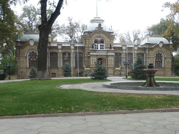 Дворец князя Романова в Ташкенте