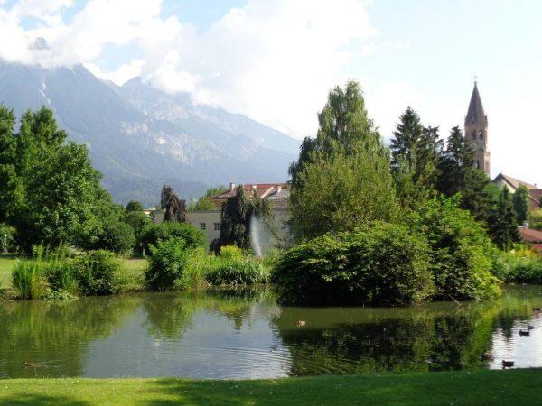 Парк «Раполди» в Инсбруке