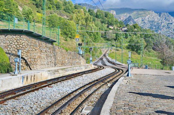 Железная дорога в Испании
