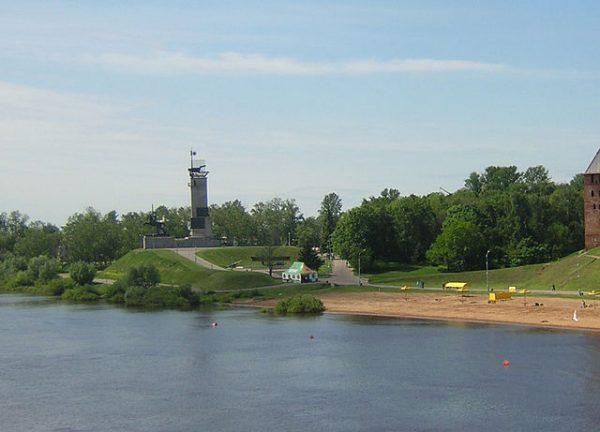Екатерининская горка в Великом Новгороде