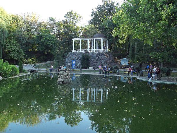 Екатерининский сад в Симферополе