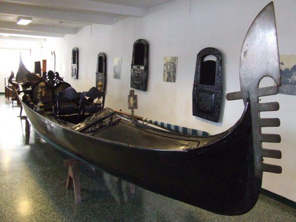 Экспонат музея военно-морского флота Венеции
