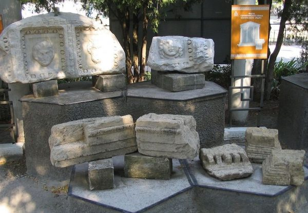 Экспонаты музея «Горгиппия»