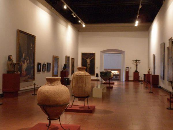 Экспозиция музея Санта-Крус в Толедо