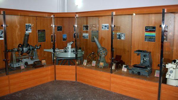 Экспозиция ташкентского музея астрономии