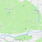 Феникс-парк на карте Дублина