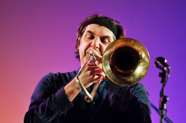 Музыкант на фестивале джаза Padova Jazz Festival